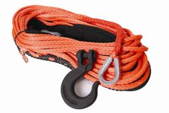 "Mile Marker Winch Synthetic Rope, 3/8"" X 100' Assembly (16,200 lbs. Min Break Force)"