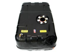 MTS Plastic Gas Tank for 1978-1979 Jeep Pickup with Front Filler Pipe, 18 Gallon Tank with Sending Unit on Top of Tank