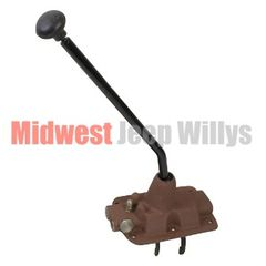 New Transmission Shifter Top Cover w/Rails & Forks Fits 1946-71 Jeep & Willys with T-90 transmission