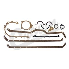 O.E. Lower Gasket Set Fits: 1976-91 CJ/Wrangler (w/ 6 cylinder )   17442.04