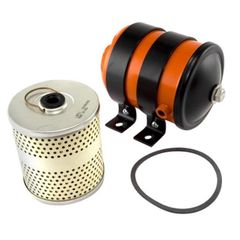 ( 808042 ) Oil Filter Canister Assembly, C-3 Small, fits L-134, F-134 & 6-226 Super Hurricane Engines by Omix-Ada