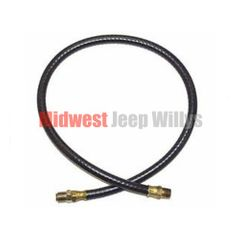 "Oil Filter Inlet Hose, 23"" Long, 4-134 CI L-Head, 1945-1953 Willys & Jeep Models"