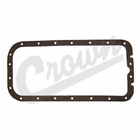 ( 639980 ) Oil Pan Gasket for 1941-1971 Willys Jeep L-134 & F-134 4 Cylinder Engines by Crown Automotive