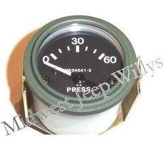 ( 118104 ) Oil Pressure Gauge (24 volt) Fits 1950-1966 Jeep M38, M38A1 by Preferred Vendor