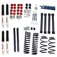 ( 1841531 ) 2-Inch Lift Kit with Shocks, 03-06 Jeep Wrangler TJ by ORV Rugged Ridge