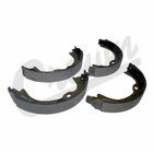 ( 68003589AA ) Replacement Parking Brake Shoe Kit for 2007-18 Jeep Wrangler, Unlimited JK & 2008-10 Liberty KK By Crown Automotive