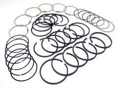 "Piston Ring Set (226 CI), .020"" Over, 6-226ci Engine, 1954-1964 Willys Pickup & Station Wagon"