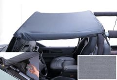 Pocket Brief, 92-95 Jeep Wrangler, Gray by Rugged Ridge