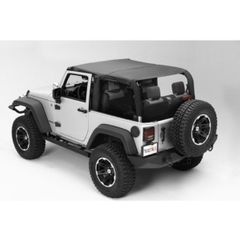 ( 1359135 ) Pocket Island Topper, Black Diamond, 10-17 Jeep Wrangler by Rugged Ridge