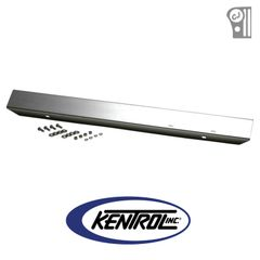 """Polished Stainless Steel 42"""" Front Bumper w/o Holes fits 1976-1986 Jeep CJ Models by Kentrol"""