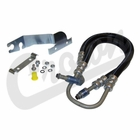( 52128940AF ) Power Steering Pressure Hose for 2004-07 Jeep Liberty KJ with 3.7L Engine By Crown Automotive
