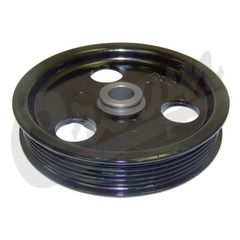 ( 53010258AB ) Power Steering Pump Pulley, 1997-06 Jeep Vehicles with 2.5L, 4.0L, & 4.7L engines By Crown Automotive