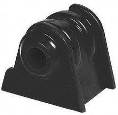 Prothane 6 Cylinder Engine Mount Set for Jeep 1987-00 WRANGLER & XJ CHEROKEE, BLACK�