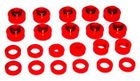 ( 1-101 ) Red Polyurethane Body & Cab Mount Bushing Kit for Jeep 1955-75 CJ by Prothane