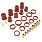 ( 1-204 ) Red Polyurethane Control Arm Bushing Kit for Jeep 1997-06 Wrangler, fits all Upper & Lower Control Arms by Prothane