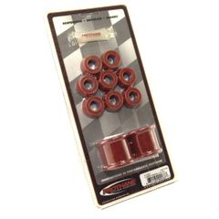 "Prothane Swaybar Bushing Kit for Jeep 1987-95 WRANGLER With 1 1/8"" DIA. BAR, RED"