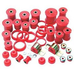 Prothane Total Suspension Kit for Jeep 1976-79 CJ5, CJ7, RED
