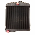New 2 Row Radiator for 1955-1971 Jeep CJ5, CJ6 with F-134 4 Cylinder Engines