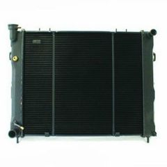 Radiator, Jeep Grand Cherokee (1995-1997) w/ 4.0L engine. Core Size: 22-1/4 x 19-1/2; 2 Rows