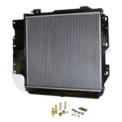 ( 52080183 ) Radiator for 1987-06 Jeep Wrangler YJ, TJ and Unlimited by Crown Automotive