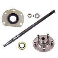 Rear Axle Kit, Drivers Side, Fits 1976-1983 CJ5 and 1976-1981 CJ7 & CJ8�