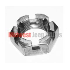 Axle Shaft Nut, Rear Axle Dana 41 & 44 with Tapered Axles