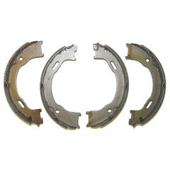 ( 5093390AA ) Rear Disc Brake Parking Brake Shoe Set for 2003-06 Wrangler TJ & Unlimited, 2003-07 Jeep Liberty KJ by Crown Automotive