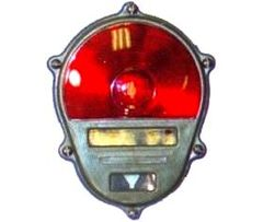 Rear Composite Lamp Cover with Red Lens for Stop Lamp / Tail Lamp / Turn Signal Lamp, NSN# 6220-00-179-4324