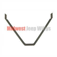 "Rear Crossmember to Frame Reinforcement ""V"" Bracket Fits 1941-1964 MB, CJ2A, CJ3A, CJ3B, M38"