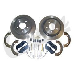 ( 52128411K ) Rear Disc Brake Service Kit for 2003-06 Jeep Wrangler TJ & Unlimited and 2003-07 Liberty KJ By Crown Automotive