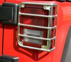 ( 1110303 ) Tail Light Euro Guards, 07-17 Jeep Wrangler by Rugged Ridge