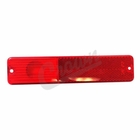 ( J0994021 ) Rear Side Marker Lens in Red for 1967-1986 C101, C104 Commando, Jeep CJ Models by Crown Automotive