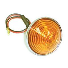 Replacement Parking & Turn Signal Lamp Assembly with Amber Lens, Fits 1953-71 CJ3B, CJ5 & CJ6