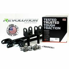 ( RAK30-TJ-30ARB ) Jeep 97-06 TJ, LJ, XJ & ZJ, US Made Front SUPER 30 Axle Kit w/ARB by Revolution Gear