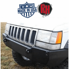 ( RH7002 ) Rock Hard 4x4 Patriot Series Front Bumper for 1993-1998 Jeep Grand Cherokee ZJ