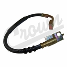 ( 52007586 ) Right Side Front Brake Hose, 1984-93 Jeep Cherokee XJ by Crown Automotive