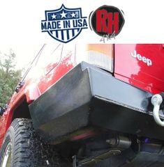 ( RH1013A ) Rock Hard 4x4 1984-2001 Jeep Cherokee XJ Rear Bumper without Tire Carrier