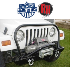 Rock Hard 4x4 Bolt-on Hood Hoop for 1976-2006 Jeep CJ5, CJ7, CJ8, YJ, TJ, and LJ