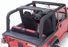 ( 1361115 ) Full Roll Bar Cover Kit, 92-95 Jeep Wrangler by Rugged Ridge