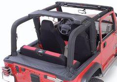 ( 1361215 ) Full Roll Bar Cover Kit, 97-02 Jeep Wrangler by Rugged Ridge