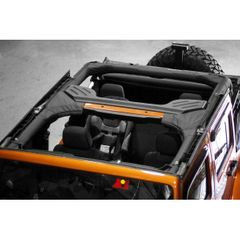 ( 1361301 ) Roll Bar Cover, Polyester, 07-17 Jeep Wrangler Unlimited by Rugged Ridge