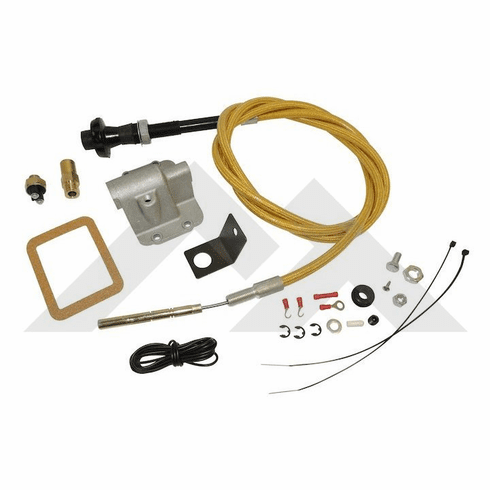 ( RT23002 ) Secure Disconnect Lock Kit for 1987-95 Jeep Wrangler YJ and 1984-93 Cherokee XJ with Dana 30 Front Axle by RT Off-Road