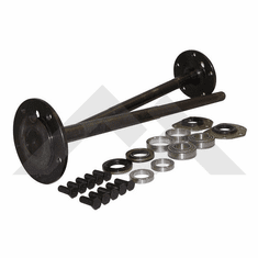 ( RT23008 ) One Piece Axle Shaft Kit For 1982-86 Jeep CJ-7 & CJ-8 with Model 20 Rear Axle By RT Off-Road