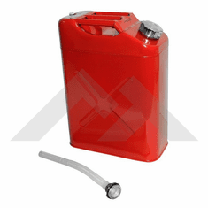 ( RT26010 ) Red Replacement Jerry Can with 5 gallon capacity Fits All Jeep Vehicles by RT Off-Road