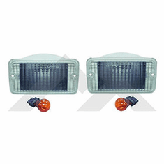 ( RT28016 ) Clear Parking Lamp Kit for 1997-2006 Wrangler TJ By RT Off-Road
