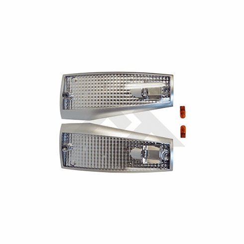 ( RT28027 ) Clear Side Marker Light Kit for 1984-1996 Cherokee XJ By RT Off-Road