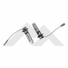 ( RT28046 ) LED Fog Lamp Bulb Kit 1994 to 2006 Jeep Applications By RT Off-Road