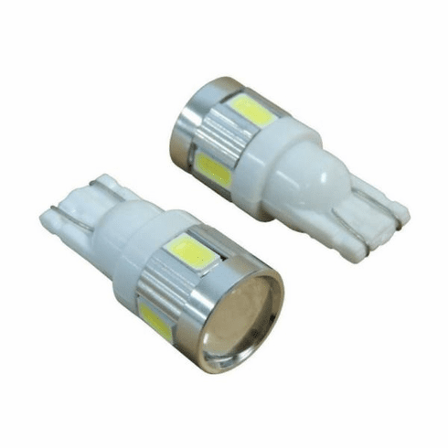 ( RT28063 ) 194 White LED Bulb Kit, Universal Applications By RT Off-Road