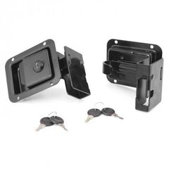Door Latch Set, 07-14 Jeep Wrangler by Rugged Ridge