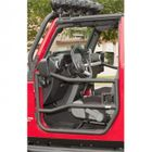 ( 1150910 ) Front Tube Doors, Textured Black, 07-17 Jeep Wrangler by Rugged Ridge